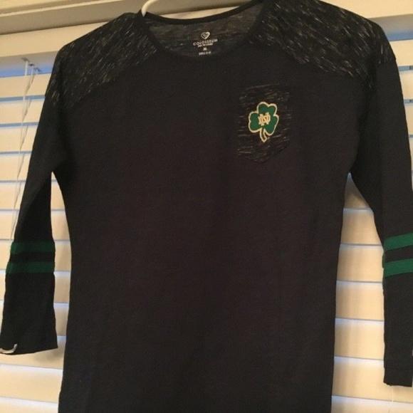 Colosseum Shirts Tops Notre Dame Long Sleeve Shirt Girls Sz 78